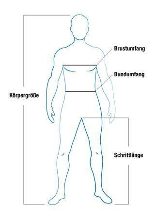 Bekannt Körpermaße und Größenaufstellung - Wöhler Technik GmbH NG51