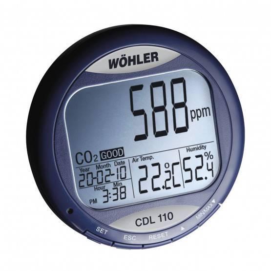 Aktion Wöhler CDL 110 CO2-Datenmonitor