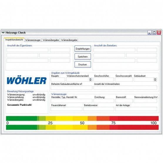 Wöhler A 400 PC-Software