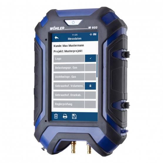 Wöhler M 603 Druckmessgerät