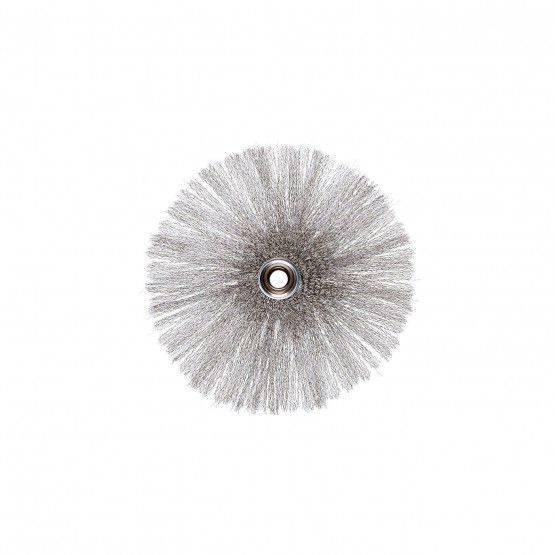 Kleinlochstern Ø 15cm, gewellt, VA