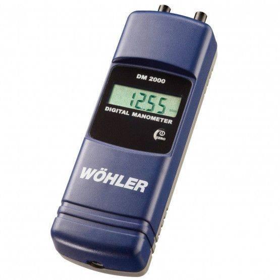 Wöhler DM 2000 Digitalmanometer
