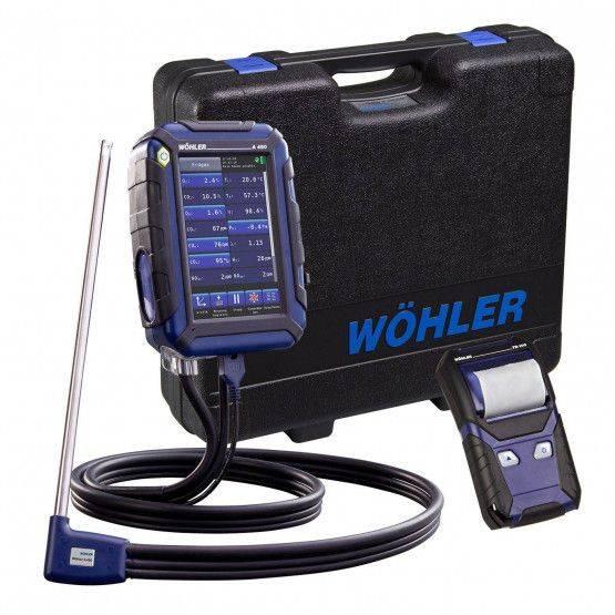 Wöhler A 450 L Abgasmessgerät