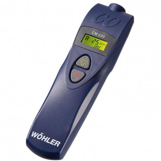 Wöhler CM 220 CO-Messgerät