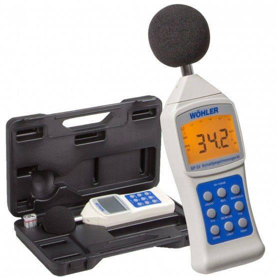 Wöhler SP 22 Schallpegelmessgerät