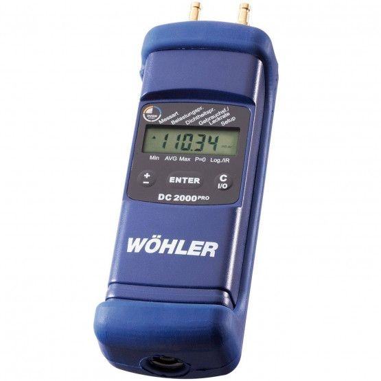 Wöhler DC 2000PRO Druckmessgerät Gas