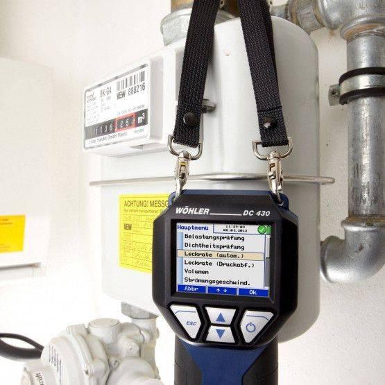 Wöhler DC 430 Druckmessgerät Gas/Wasser