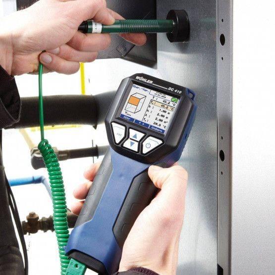 Wöhler DC 410 Feinstdruckmessgerät