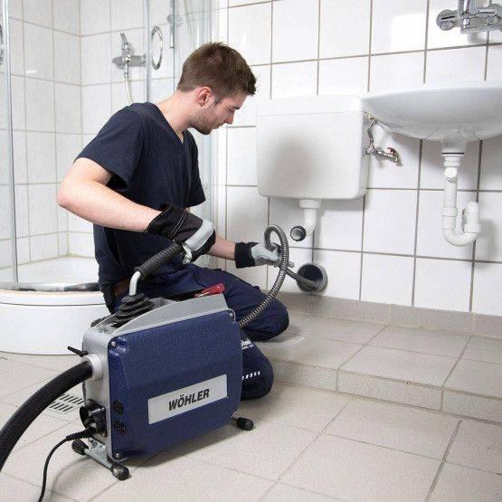 Abwasserleitungen einfach und effektiv reinigen