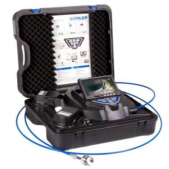 Wöhler VIS 300 / 350 Inspection vidéo