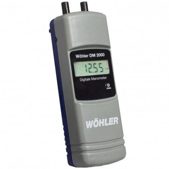 Wöhler DM 2000 manometro digitale