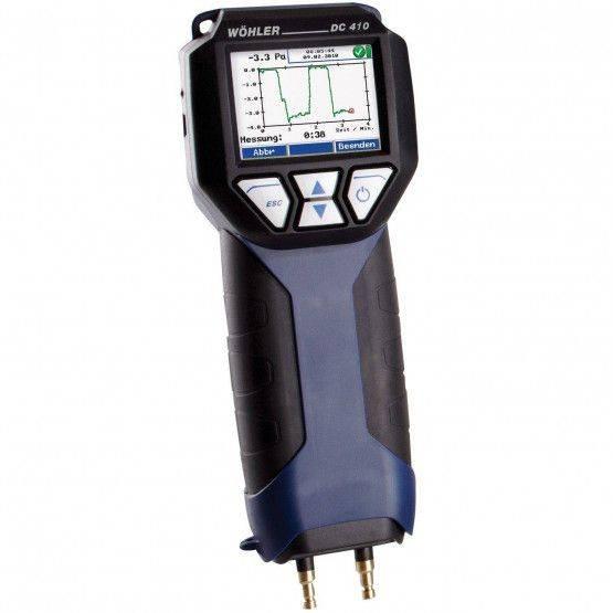 Wöhler DC 410 Micromanometro