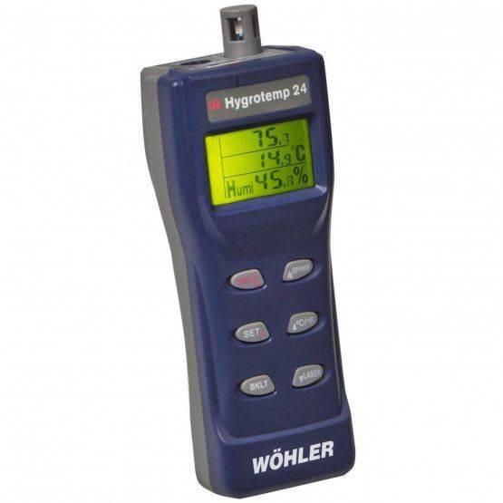 Wöhler IR Hygrotemp 24 hygrometer