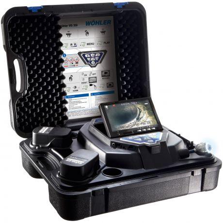 Kamerainspektion von Abgasanlagen / Lüftungs- und Abwasserleitungen