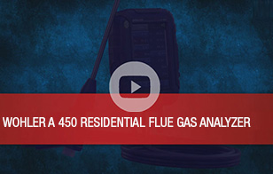 Wohler A 450 Flue Gas Analyzer